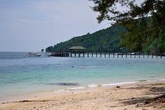 Manukan Island view, Kota Kinabalu Sabah Borneo. Stock Images