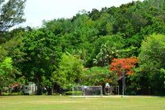 Manukan wyspy pole w Sabah, Malezja Fotografia Stock