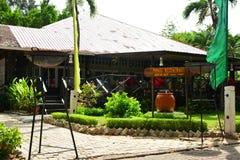 Manukan wyspy restauracja w Sabah, Malezja Zdjęcia Royalty Free