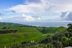 Manukau cape. Near to Auckland city, at west coast Stock Photo