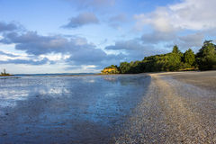 Manukau cape. Near to Auckland city, at west coast Stock Photos