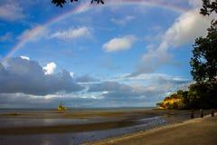 Manukau cape. Near to Auckland city, at west coast Royalty Free Stock Photography
