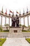 Manument da rotunda do La em Guayaquil em Equador Fotografia de Stock Royalty Free