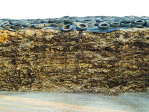 Manure heap Royalty Free Stock Images