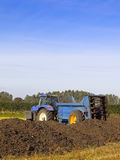 Manure spreader Royalty Free Stock Images