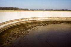 Manure storage Royalty Free Stock Photo