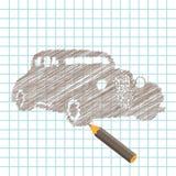 Manuscript car Stock Images