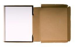Manuscript in Manuscript Box Stock Photo