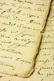 Manuscript Royalty Free Stock Photography