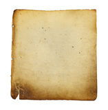 Manuscript Paper Stock Photography
