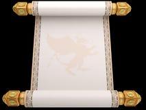 Manuscript a roll Royalty Free Stock Photos