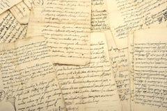 manuscripten Royalty-vrije Stock Afbeeldingen