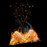 Manuscripts do not burn Stock Image