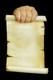 Manuscrit Images stock