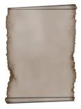 Manuscrit, fond de papier grunge âgé de défilement Images libres de droits