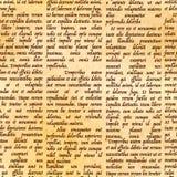 Manuscrit latin abstrait sur le modèle antique de parchemin illustration de vecteur