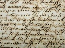 Manuscrito Foto de archivo