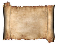 Manuscrito horizontal Imágenes de archivo libres de regalías