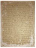 Manuscrito velho Fotografia de Stock