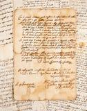 Manuscritos imagens de stock royalty free