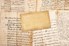 Manuscritos imagem de stock
