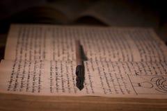 Manuscritos antigos imagem de stock royalty free