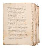Manuscritos velhos imagens de stock