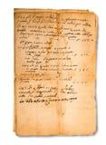 Manuscritos velhos imagem de stock royalty free