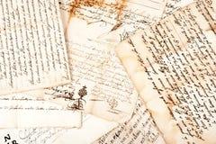 Manuscrits Photo libre de droits