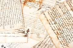 Manuskript Royaltyfri Foto
