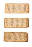 manuskriptmongolian Royaltyfri Bild