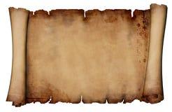 manuskriptrulle Royaltyfri Bild