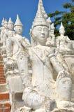 Manussiha μπροστά από την παγόδα Mingun, Mandalay, το Μιανμάρ στοκ φωτογραφία με δικαίωμα ελεύθερης χρήσης