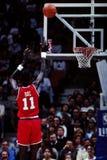 Manute Bol, los Philadelphia 76ers Foto de archivo