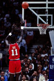 Manute Bol Philadelphia 76ers Arkivfoto