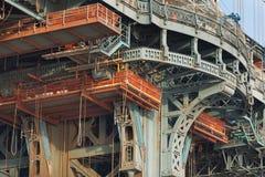 Manutenção da ponte Imagens de Stock Royalty Free