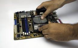Manutenção do cartão-matriz Imagem de Stock