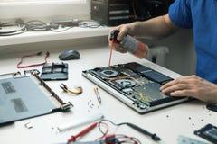 Manutenção do computador fotos de stock