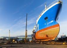 Manutenção do navio Imagem de Stock Royalty Free
