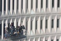 Manutenção elevada do edifício da ascensão Imagem de Stock Royalty Free