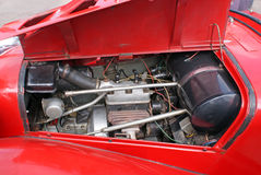 Manutenção o motor de automóveis Imagem de Stock