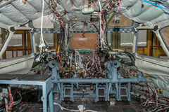 Manutenção plana da cabina do piloto Foto de Stock