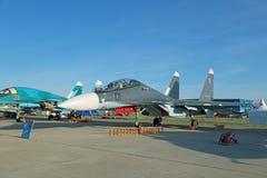 Manutenção programada de Sukhoi Su-30 (flanker-c) Imagem de Stock Royalty Free