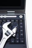 Manutenzione del calcolatore Fotografia Stock