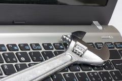 Manutenzione del calcolatore Fotografie Stock