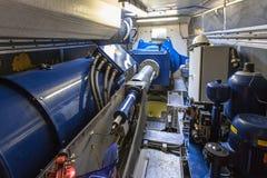Manutenzione un alloggio del generatore eolico o della carlinga Immagine Stock Libera da Diritti