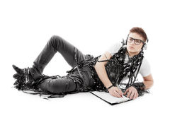 manwriting Arkivbilder