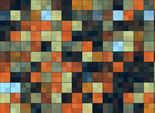 Many abstract square pixels backgrounds Stock Images