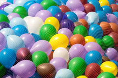 Many air balloons Royalty Free Stock Photo