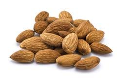 Many almonds Royalty Free Stock Photos